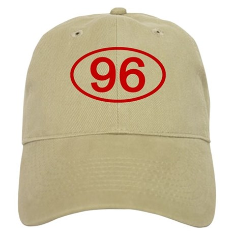 Number 96 Oval Cap