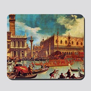 Canaletto: Bucentaurs Return Mousepad