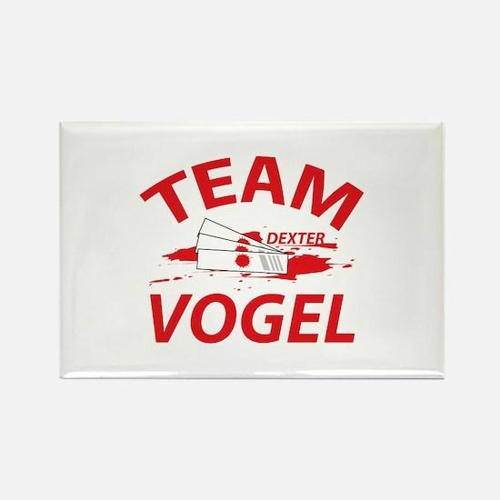 Team Vogel Dexter Rectangle Magnet
