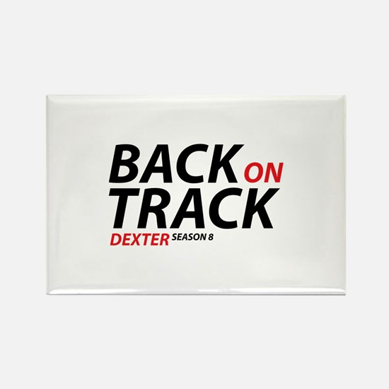 Back On Track Dexter Season 8 Rectangle Magnet