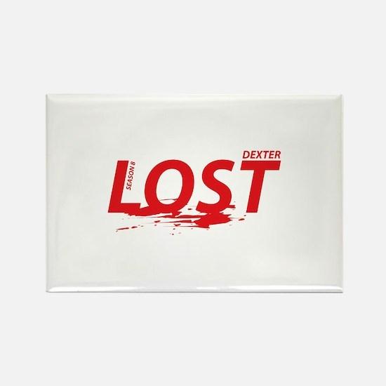 LOST Dexter Season 8 Rectangle Magnet