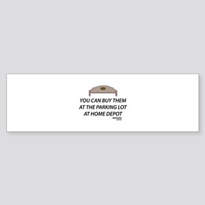 Bench Masuka Quote Sticker (Bumper)