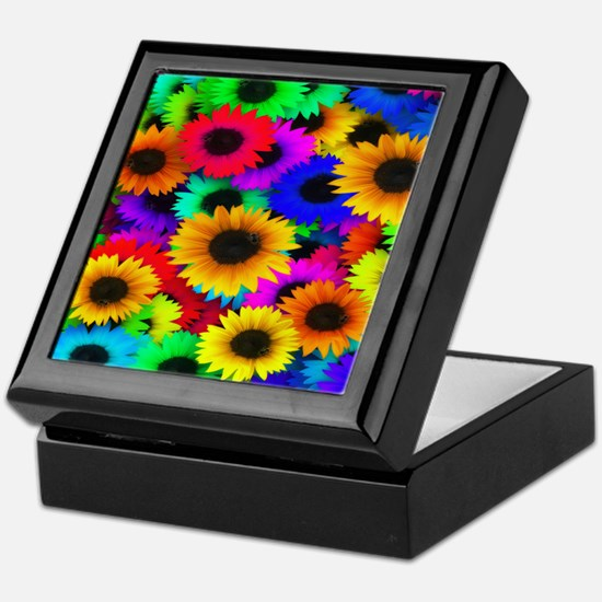 Glorious Sunflowers Keepsake Box