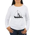 Kokopelli Sailor Women's Long Sleeve T-Shirt