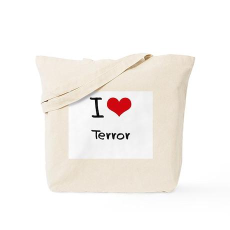 I love Terror Tote Bag