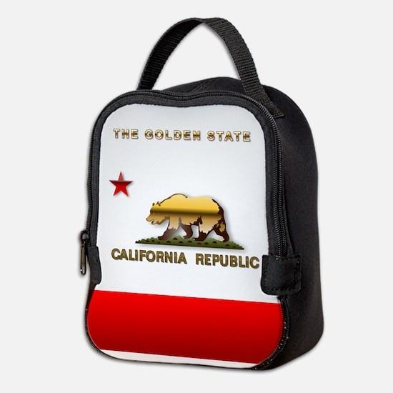 California Neoprene Lunch Bag