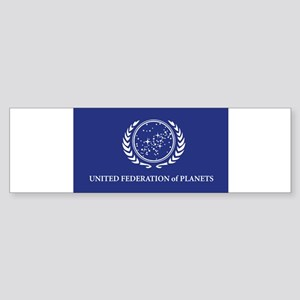 flagstickerrect Bumper Sticker