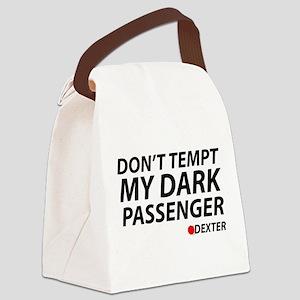 Don't Temp My Dark Passenger Canvas Lunch Bag