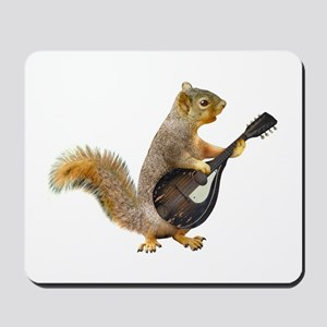 Squirrel Mandolin Mousepad