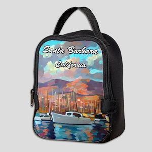 Santa Barbara Neoprene Lunch Bag