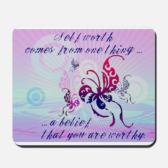 Self Worth Mousepad