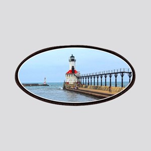 Michigan City Lighthouse Patches