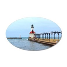 Michigan City Lighthouse Wall Decal