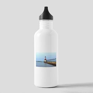 Michigan City Lighthouse Water Bottle