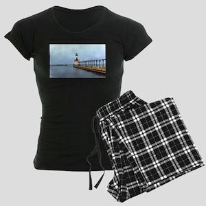 Michigan City Lighthouse Pajamas