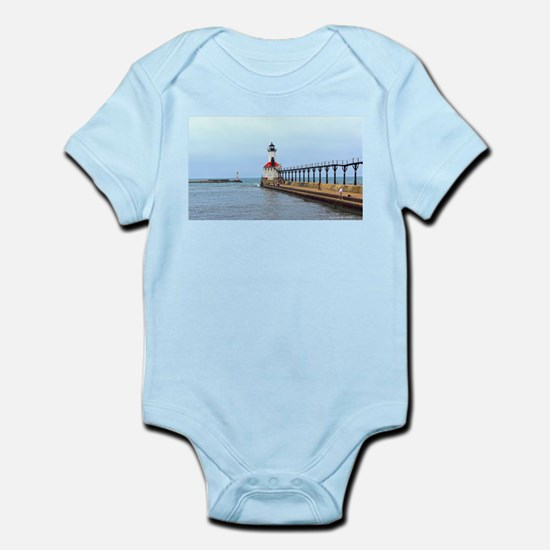 Michigan City Lighthouse Body Suit