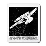 Space Cartoon 8878 Mousepad