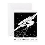 Space Cartoon 8878 Greeting Card