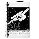 Space Cartoon 8878 Journal