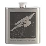 Space Cartoon 8878 Flask