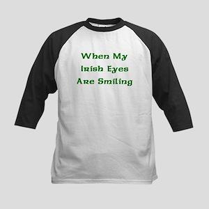 My Irish Eyes Kids Baseball Jersey