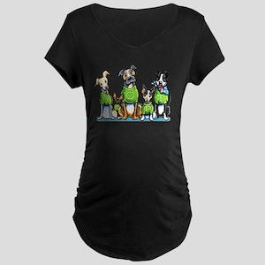 Adopt Shelter Dogs DK Maternity T-Shirt