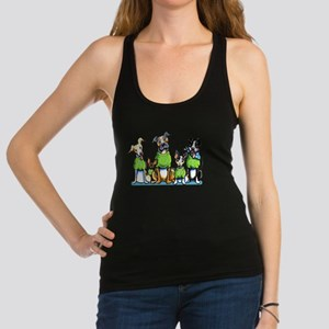 Adopt Shelter Dogs DK Racerback Tank Top