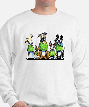Adopt Shelter Dogs Sweater