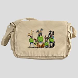Adopt Shelter Dogs Messenger Bag