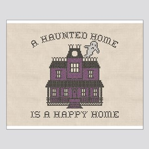 Haunted Home Happy Home Small Poster