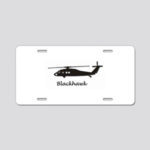 Uh-60 Blackhawk Aluminum License Plate