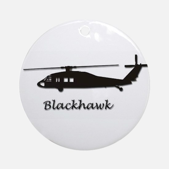 UH-60 Blackhawk Ornament (Round)