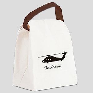 UH-60 Blackhawk Canvas Lunch Bag
