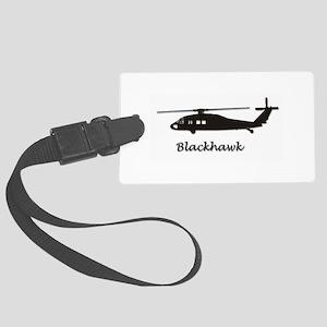 UH-60 Blackhawk Large Luggage Tag