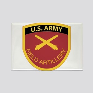 US Army Field Artillery Rectangle Magnet