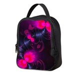 Flower Fairy - Abstract Rose Neoprene Lunch Bag