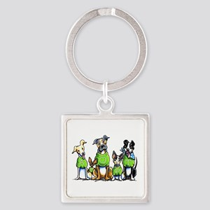 Adopt Shelter Dogs Keychains