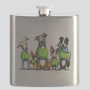 Adopt Shelter Dogs Flask