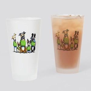 Adopt Shelter Dogs Drinking Glass