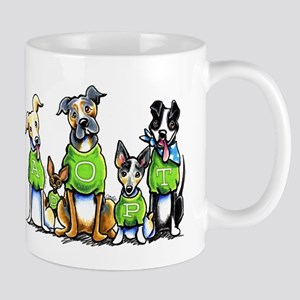 Adopt Shelter Dogs Mug
