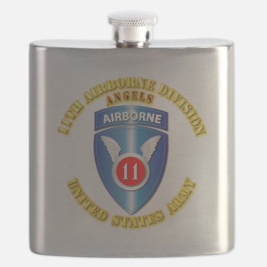 Army - 11th Airborne Division Flask