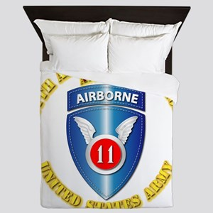 Army - 11th Airborne Division Queen Duvet