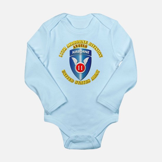 Army - 11th Airborne Division Long Sleeve Infant B