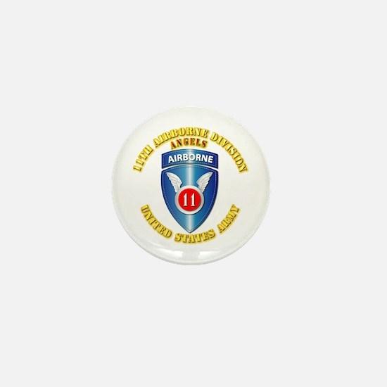 Army - 11th Airborne Division Mini Button