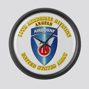 Army - 11th Airborne Division Large Wall Clock
