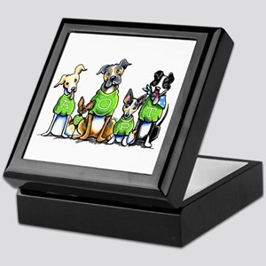 Adopt Shelter Dogs Keepsake Box