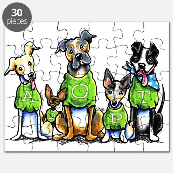 Adopt Shelter Dogs Puzzle