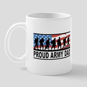 Proud Army Dad Mug