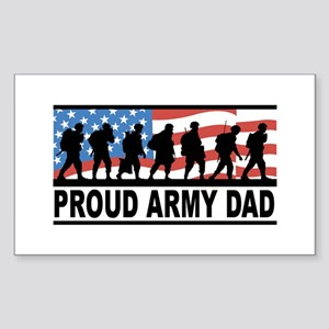 Proud Army Dad Vinyl Sticker