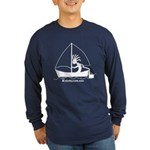 Kokopelli Sailor Long Sleeve Dark T-Shirt